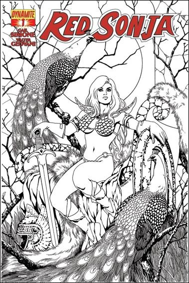 Red Sonja (2013) 1-I by Dynamite Entertainment