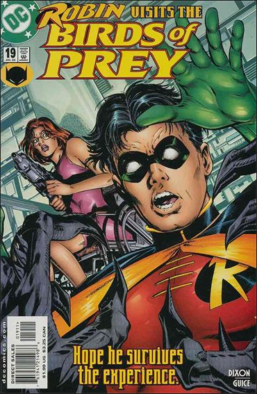 Birds of Prey (1999) 19-A by DC