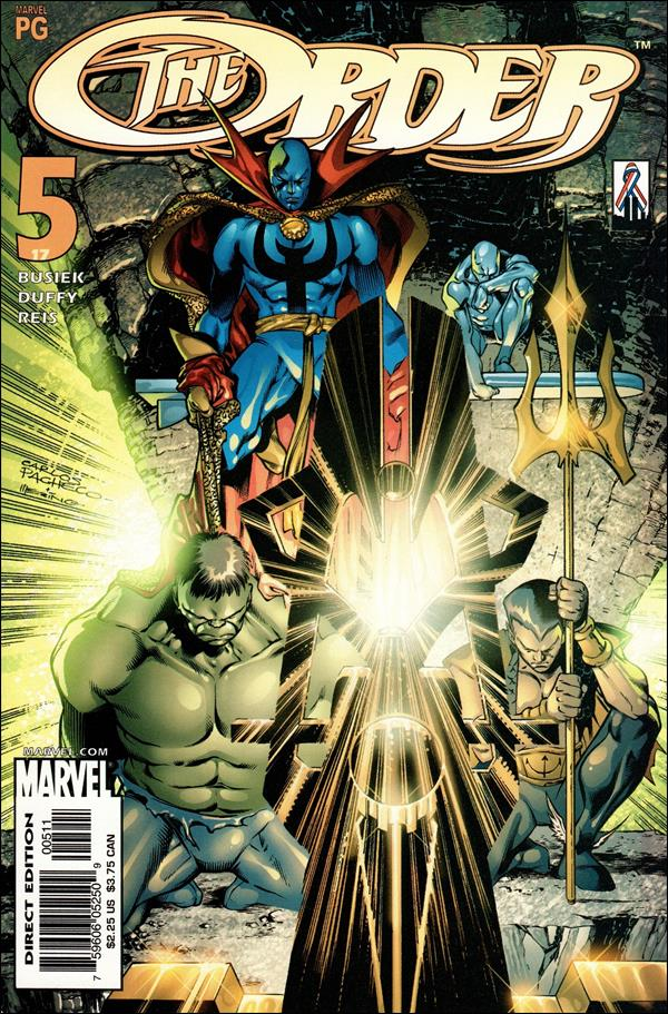 Order (2002) 5-A by Marvel