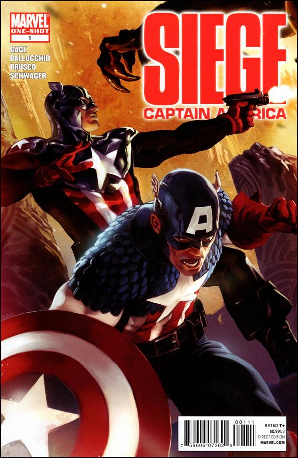 Siege: Captain America 1-A by Marvel