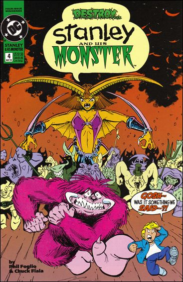 Stanley and His Monster (1993) 4-A by DC