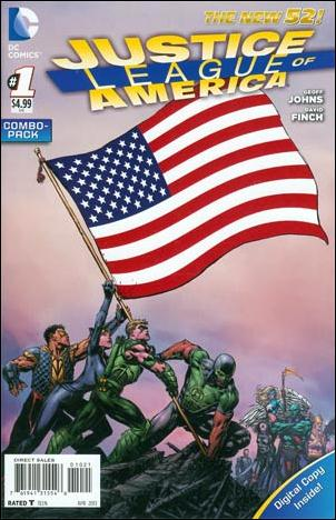 Justice League of America (2013)  1-B by DC