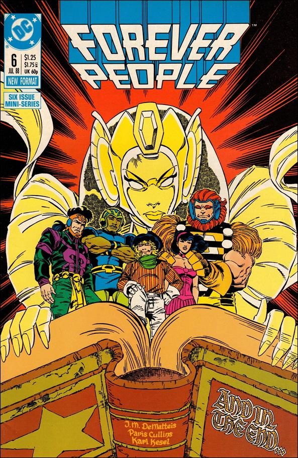 Forever People (1988) 6-A by DC