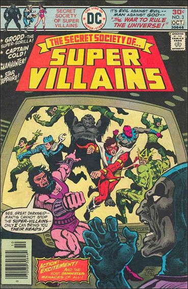 Secret Society of Super-Villains 3-A by DC