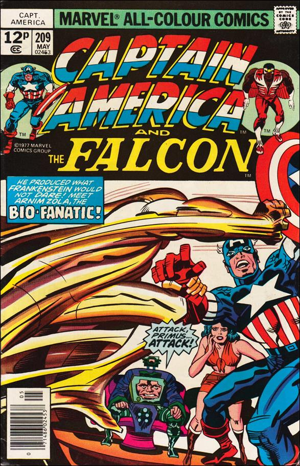 Captain America (1968) 209-B by Marvel