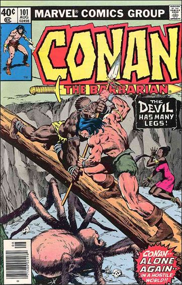 Conan the Barbarian (1970) 101-A by Marvel