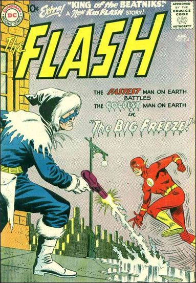 Flash (1959) 114-A by DC