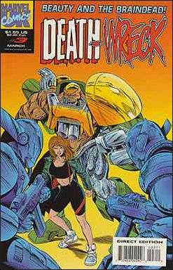 Death Wreck (UK) 3-A by Marvel UK