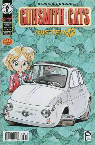 Gunsmith Cats: Mister V 5-A by Dark Horse