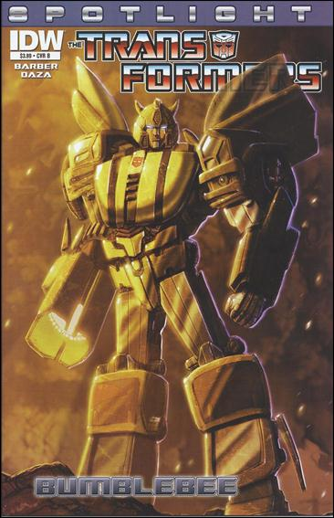 Transformers Spotlight: Bumblebee nn-B by IDW