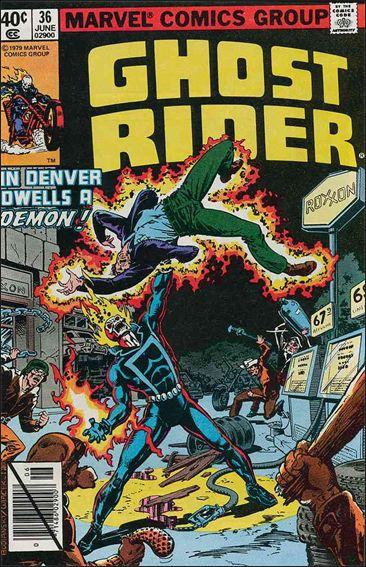 Ghost Rider (1973) 36-A by Marvel