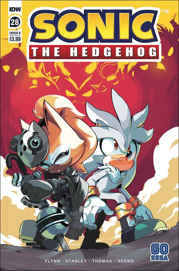 Sonic the Hedgehog (2018) 28-B by IDW