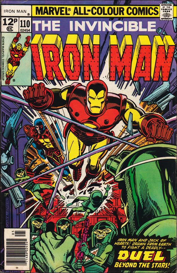 Iron Man (1968) 110-B by Marvel