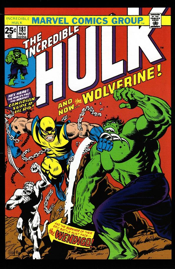 Incredible Hulk (1968) 181-D by Marvel