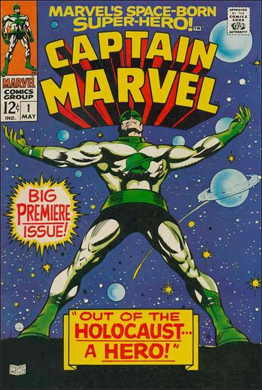 Captain Marvel (1968) 1-A by Marvel
