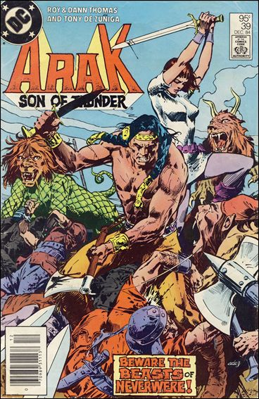 Arak Son of Thunder 39-B by DC