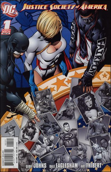 Justice Society of America (2007) 1-B by DC