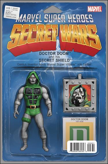 Secret Wars 8-F by Marvel