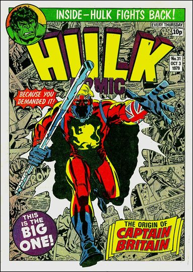Hulk Comic (UK) 31-A by Marvel UK
