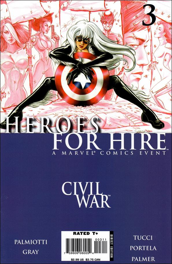 Heroes for Hire (2006) 3-A by Marvel