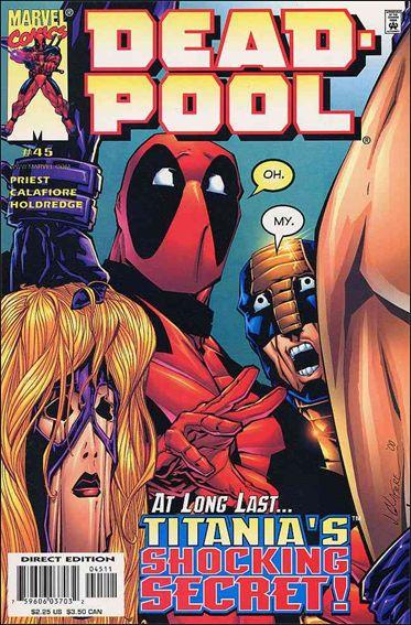 Deadpool (1997) 45-A by Marvel