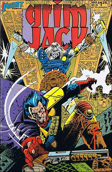 Grimjack 20-A by First