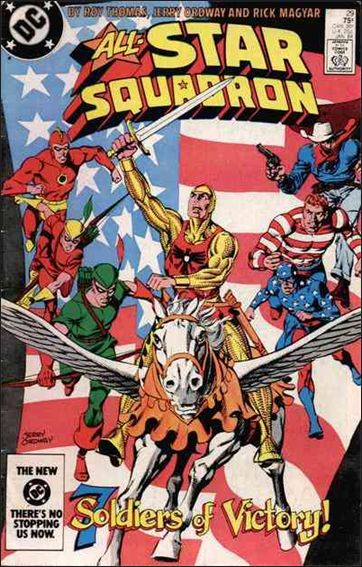 All-Star Squadron 29-A by DC