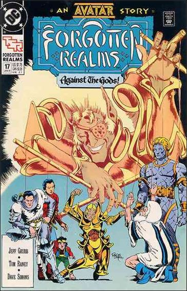 Forgotten Realms 17-A by DC