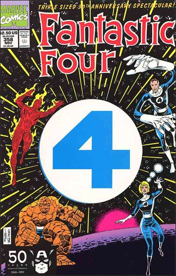 Fantastic Four (1961) 358-A by Marvel
