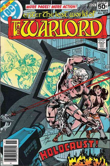 Warlord (1976) 15-A by DC