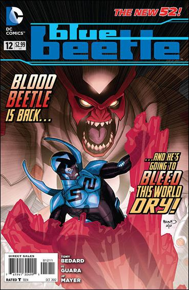 Blue Beetle (2011) 12-A by DC