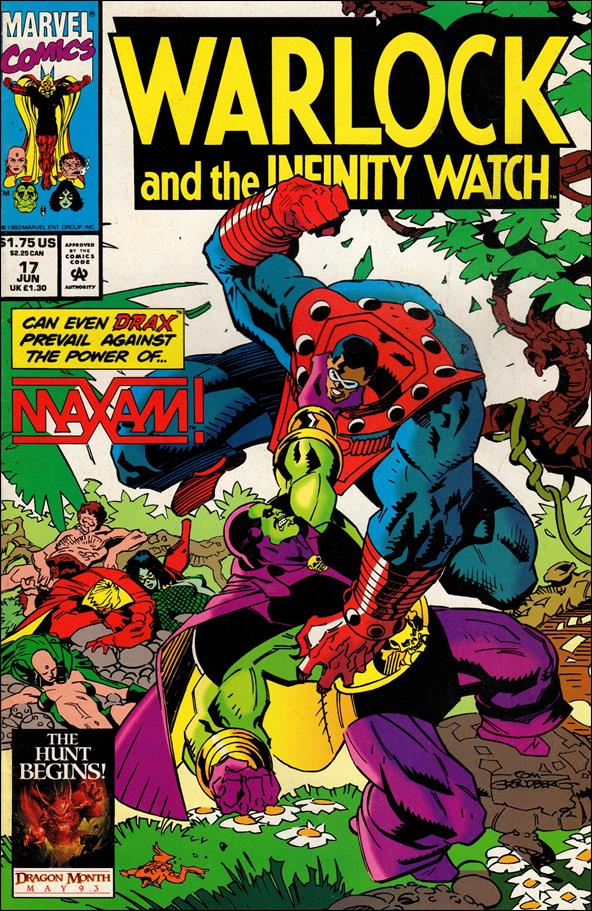 Warlock and the Infinity Watch 17-A by Marvel