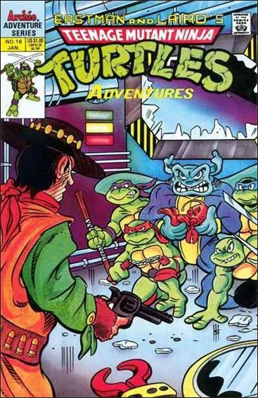 Teenage Mutant Ninja Turtles Adventures (1989) 16-A by Archie