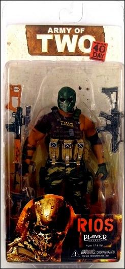 Army of Two Rios by NECA