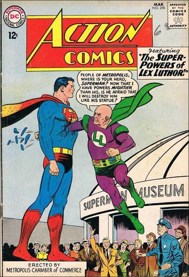 Action Comics (1938) 298-A by DC