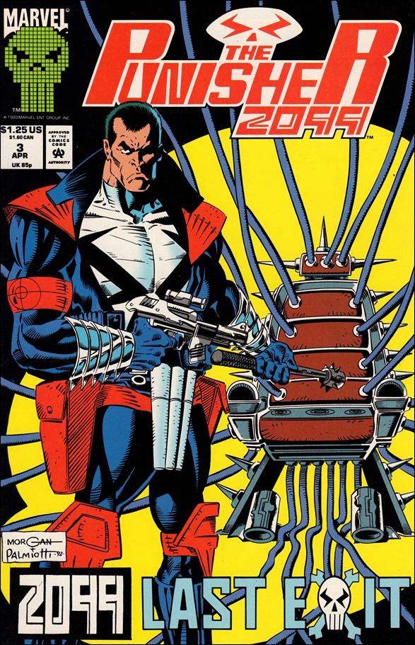 Punisher 2099 (1993) 3-A by Marvel