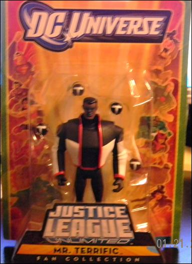 DC Universe: Justice League Unlimited Fan Classics Mr Terrific by Mattel