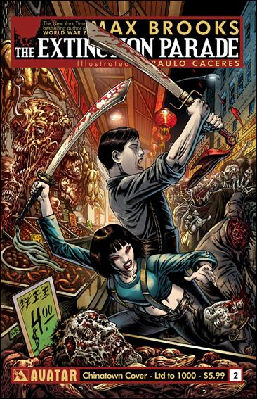 Extinction Parade 2-E by Avatar Press