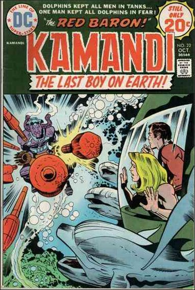 Kamandi, the Last Boy on Earth 22-A by DC
