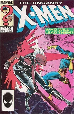 Uncanny X-Men (1981) 201-A