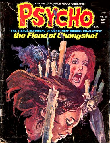 Psycho (1971) 21-A by Skywald
