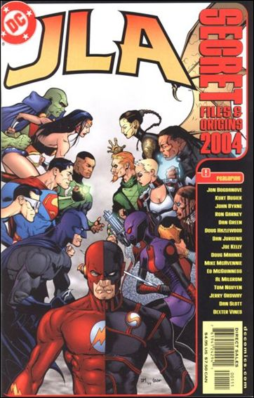 JLA Secret Files 2004-A by DC