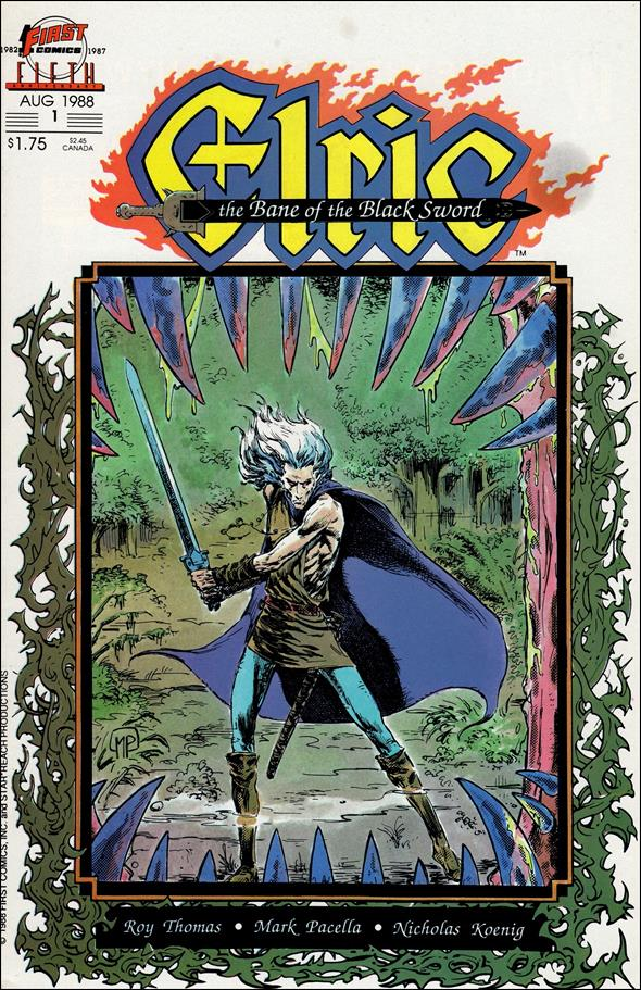 Elric: The Bane of the Black Sword 1-A by First