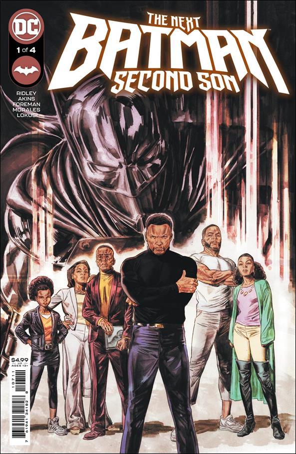Next Batman: Second Son 1-A by DC