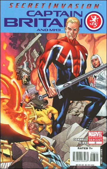 Captain Britain and MI13 3-B by Marvel