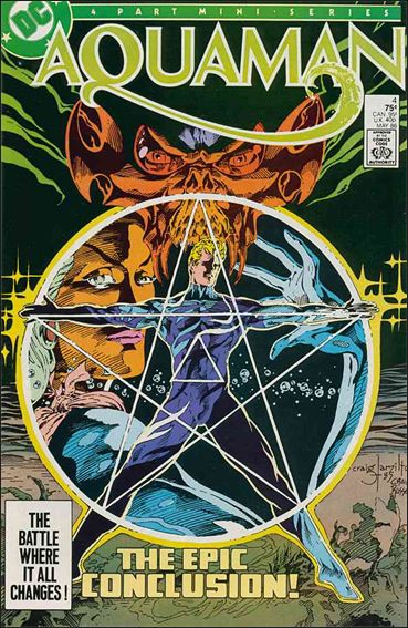 Aquaman (1986) 4-A by DC