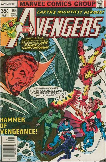 Avengers (1963) 165-A by Marvel