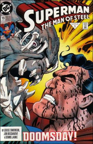 Superman: The Man of Steel 19-A by DC