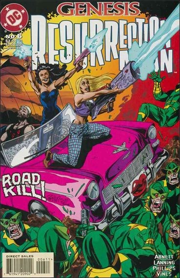 Resurrection Man (1997) 6-A by DC