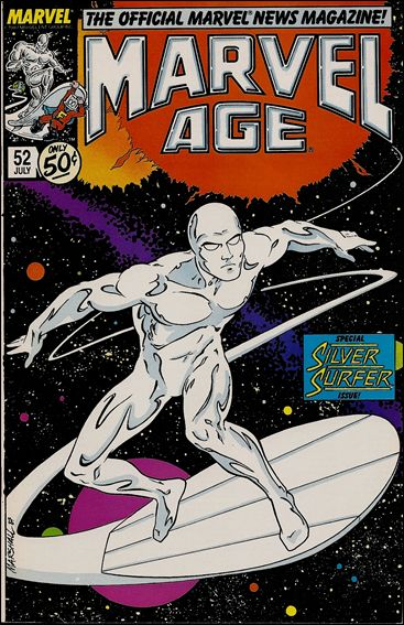 Marvel Age 52-A by Marvel